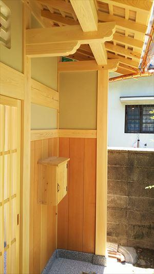 和風建築 門屋の新築